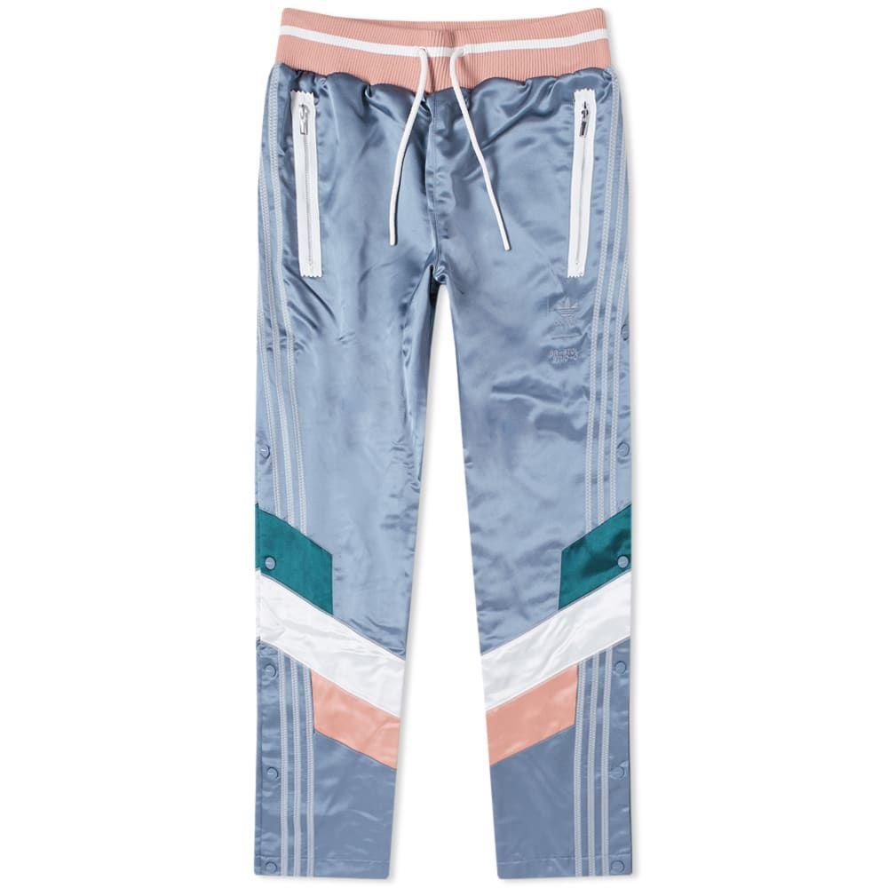 アディダス Adidas Consortium メンズ スウェット・ジャージ ボトムス・パンツ【x bristol studio sweat pant】Blue/Green