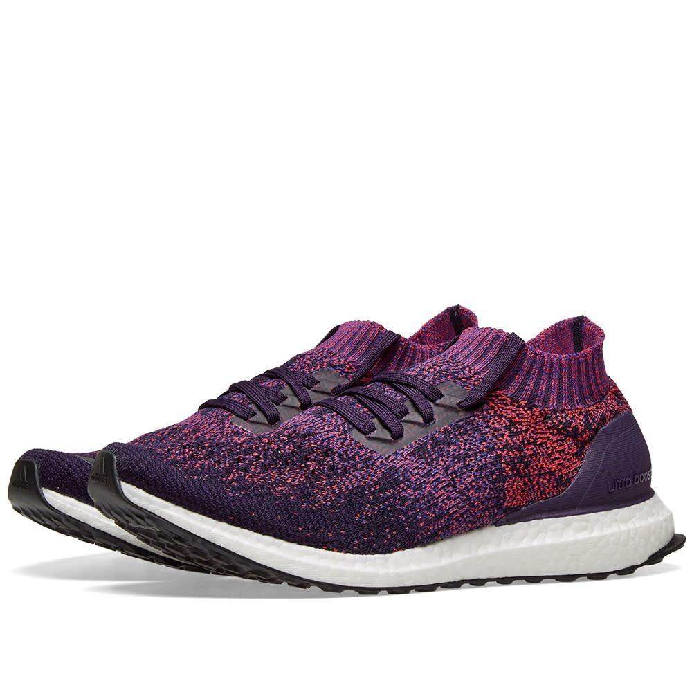 アディダス Adidas メンズ スニーカー シューズ・靴【ultra boost uncaged】Legend Purple/Blue/Red