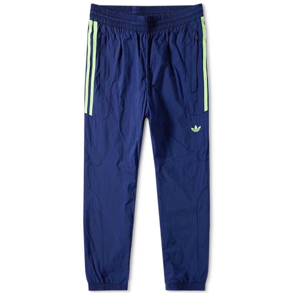 アディダス Adidas メンズ スウェット・ジャージ ボトムス・パンツ【flamestrike woven track pant】Dark Blue
