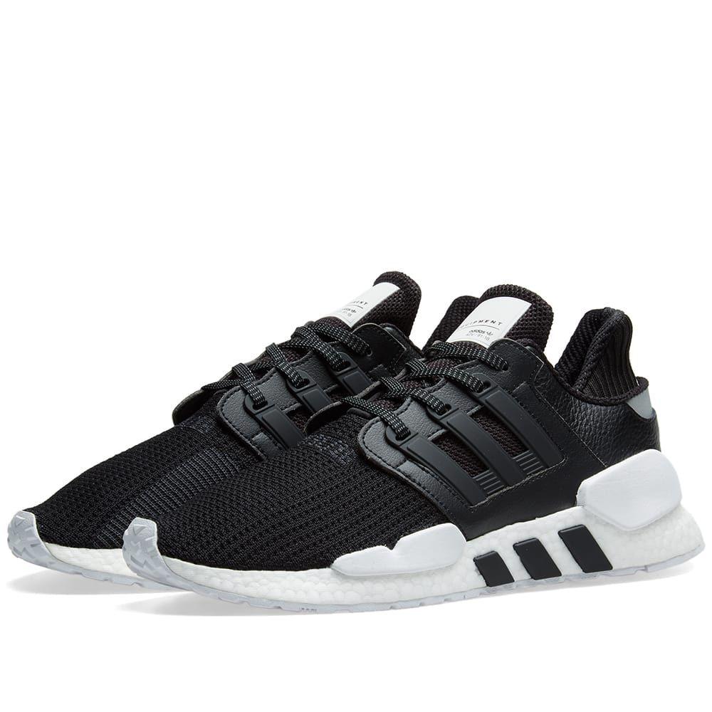 アディダス Adidas メンズ スニーカー シューズ・靴【eqt support 91/18】Core Black