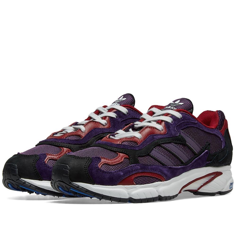 超目玉 アディダス メンズ 受注生産品 シューズ 靴 スニーカー Legend Purple Black run サイズ交換無料 temper Core Adidas