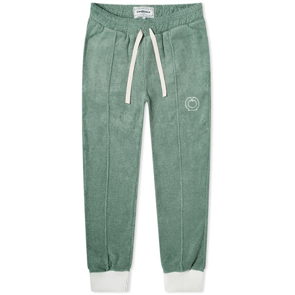 カサブランカ Casablanca メンズ スウェット・ジャージ ボトムス・パンツ【apres terry track pant】Green