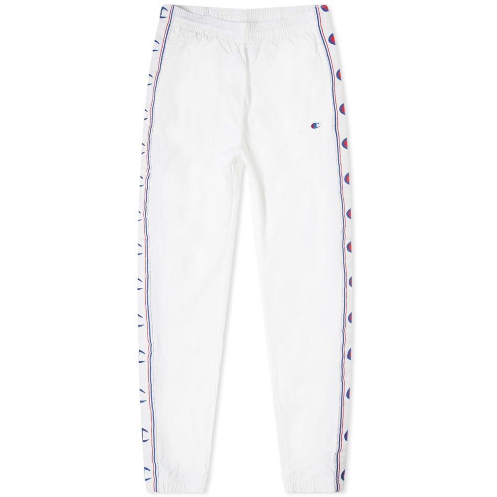 チャンピオン Champion Reverse Weave メンズ ジョガーパンツ ボトムス・パンツ【taped elastic cuff jogger】White