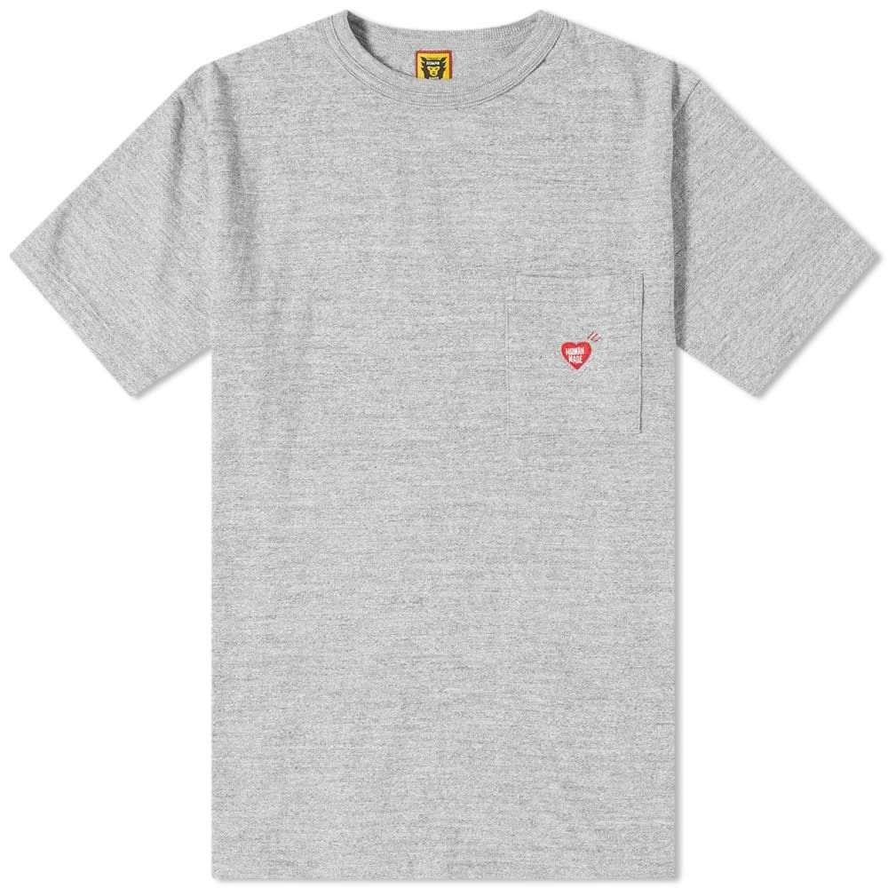【30%OFF】 ヒューマンメイド トップス【back Human Made メンズ print Tシャツ ポケット トップス【back print メンズ pocket tee】Grey:フェルマート, チークマホガニー家具 PasarRaya:24cbefe0 --- nagari.or.id