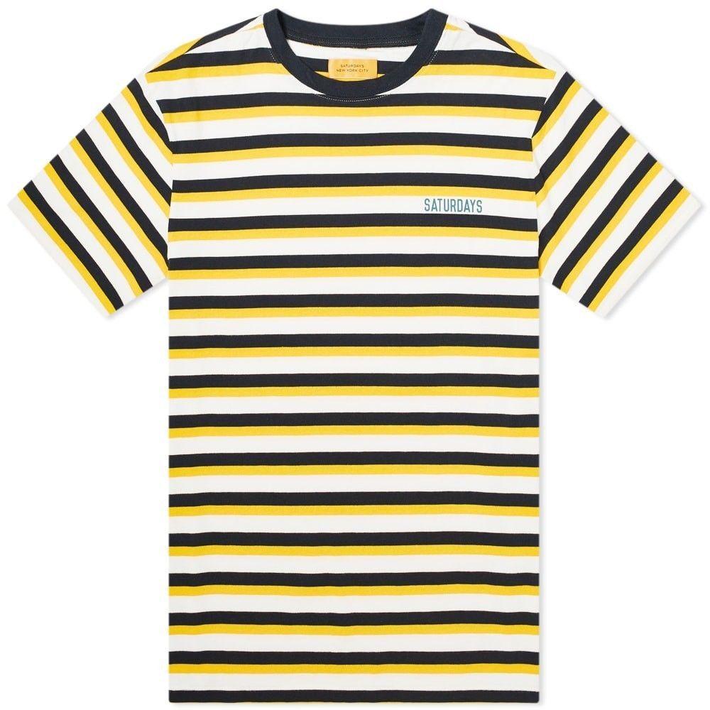 サタデーニューヨーク Saturdays NYC メンズ Tシャツ トップス【skelton tee】Saffron