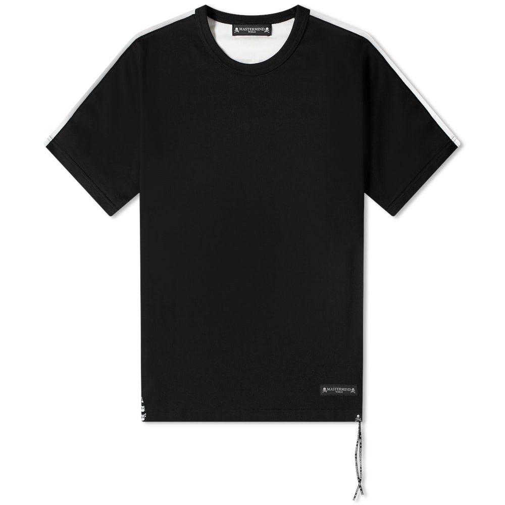 マスターマインド MASTERMIND WORLD メンズ Tシャツ ロゴTシャツ トップス【back panel logo tee】Black/White