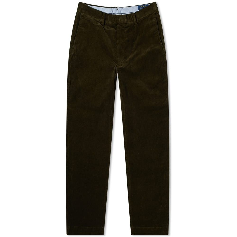 ラルフ ローレン Polo Ralph Lauren メンズ ボトムス・パンツ 【flat front cord pant】Company Olive