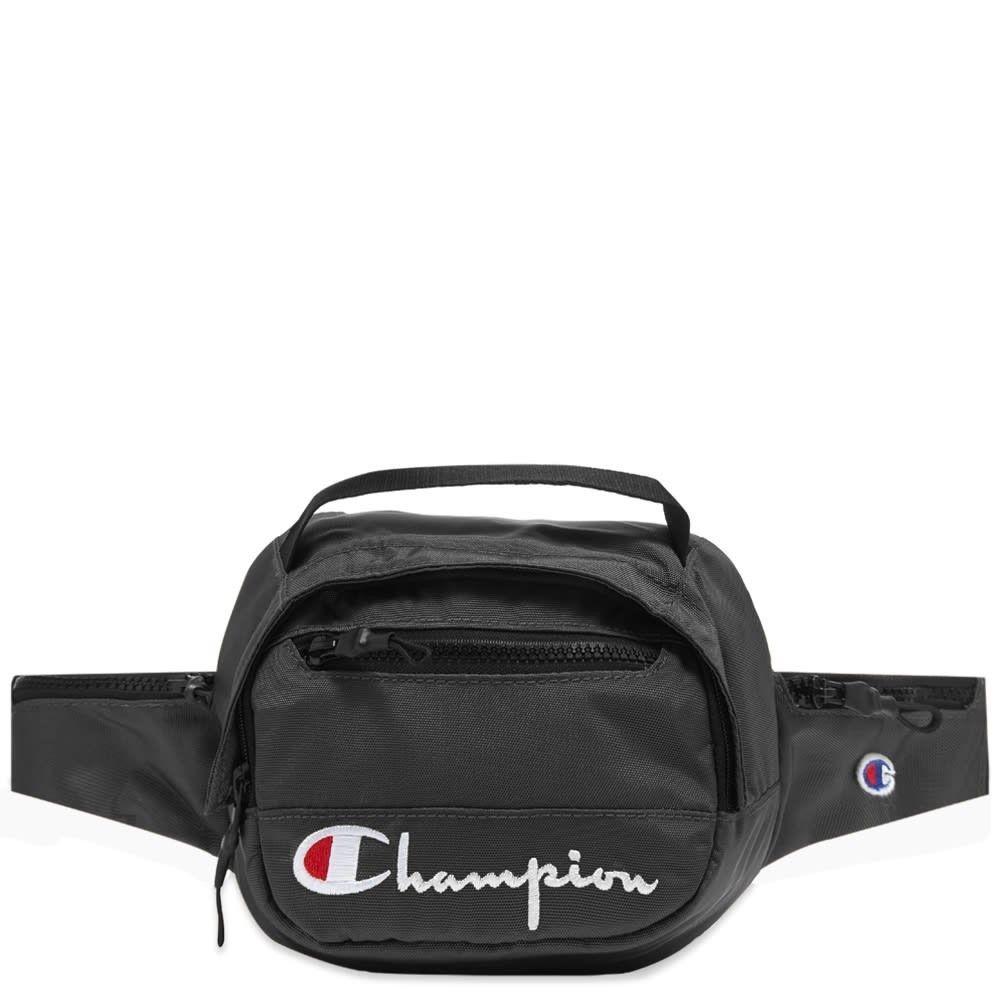 チャンピオン Champion Reverse Weave メンズ ボディバッグ・ウエストポーチ バッグ【script belt bag】Black