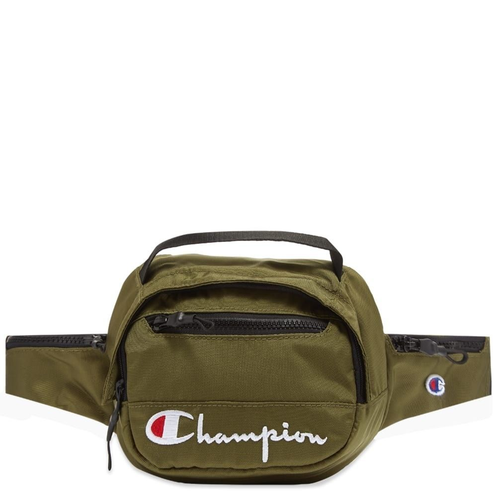 チャンピオン Champion Reverse Weave メンズ ボディバッグ・ウエストポーチ バッグ【script belt bag】Green
