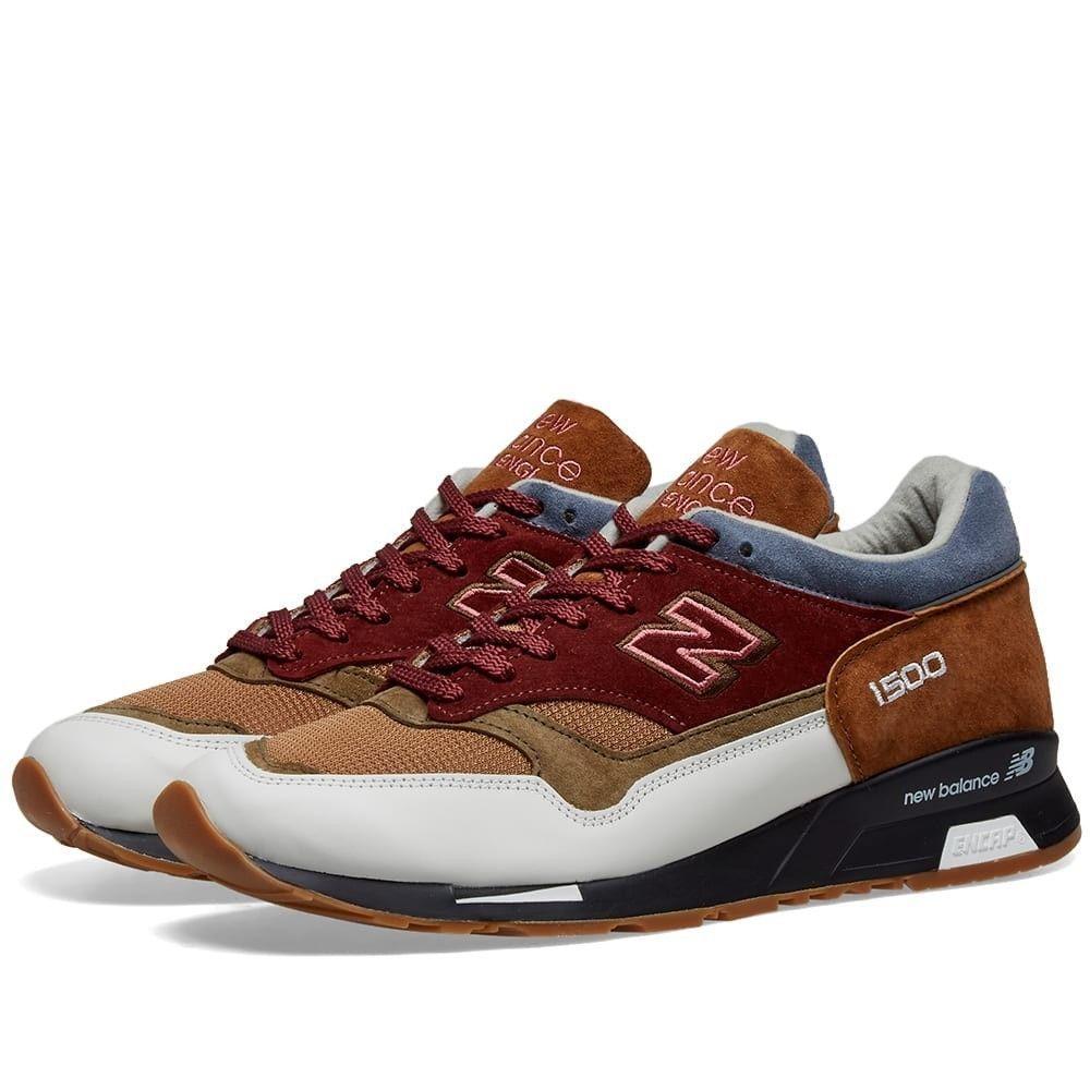 ニューバランス New Balance メンズ スニーカー シューズ・靴【m1500bwb - made in england】Brown/Olive/Burgundy