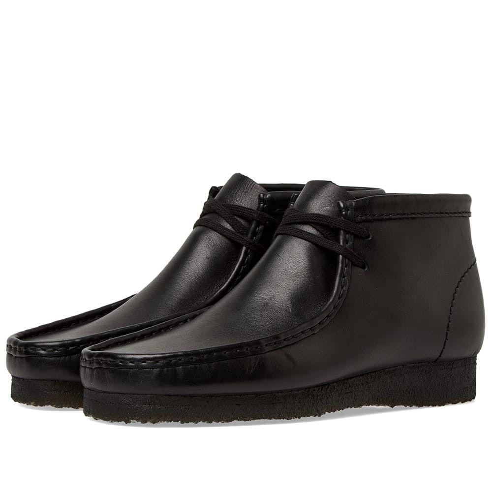 クラークス Clarks Originals メンズ ブーツ シューズ・靴【wallabee boot】Black Leather