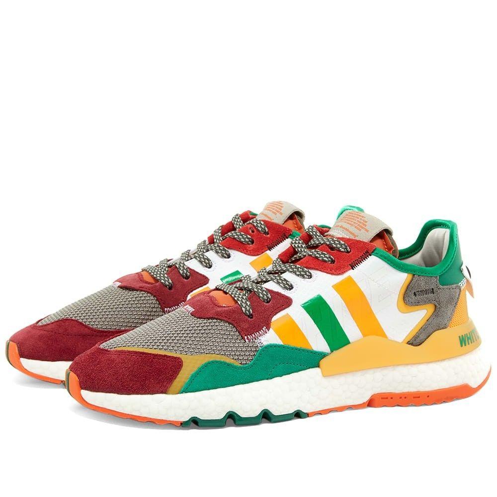 アディダス Adidas x White Mountaineering メンズ スニーカー シューズ・靴【adidas x white mountineering nite jogger】Multicolour