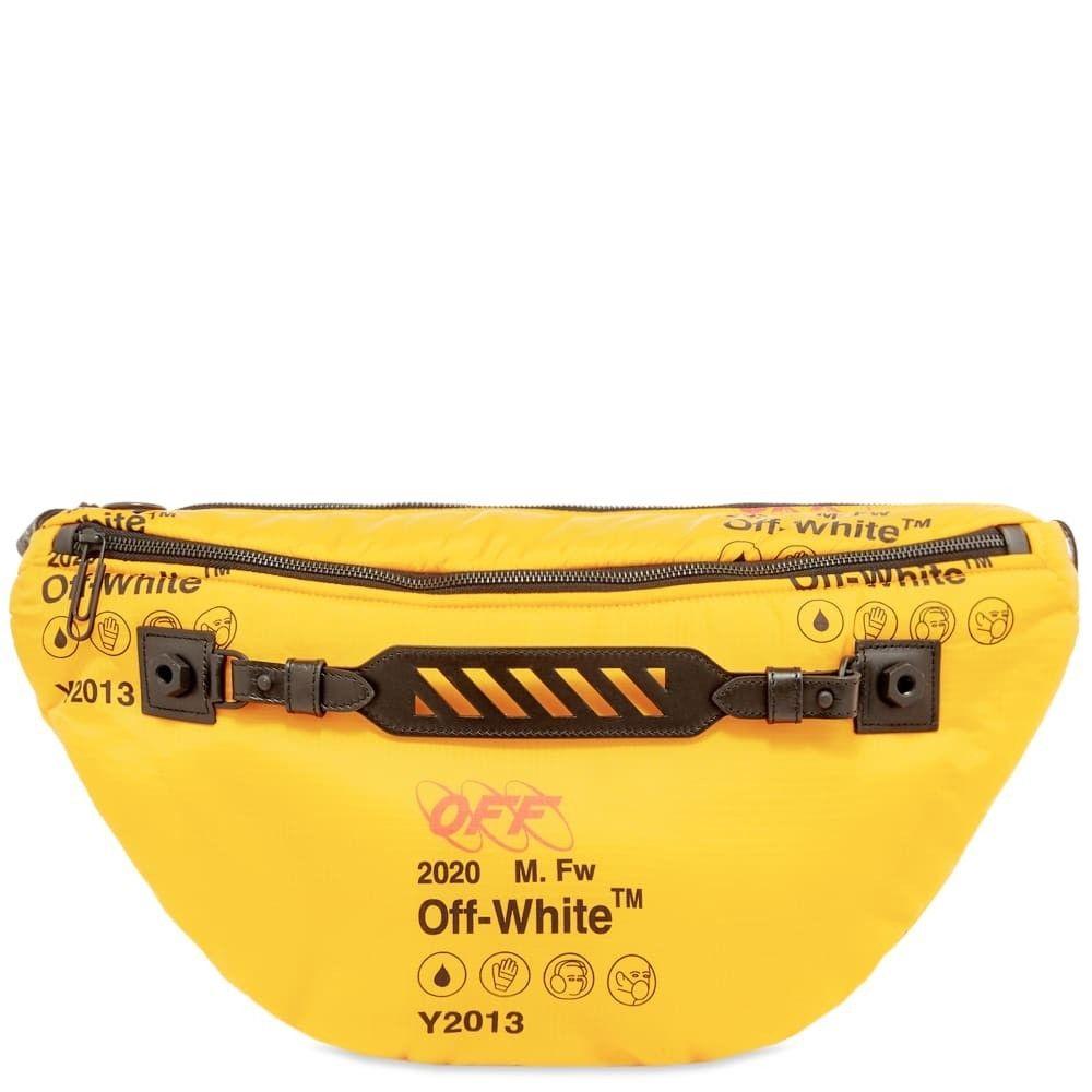 オフホワイト Off-White メンズ ボディバッグ・ウエストポーチ バッグ【industrial medium bumbag】Yellow