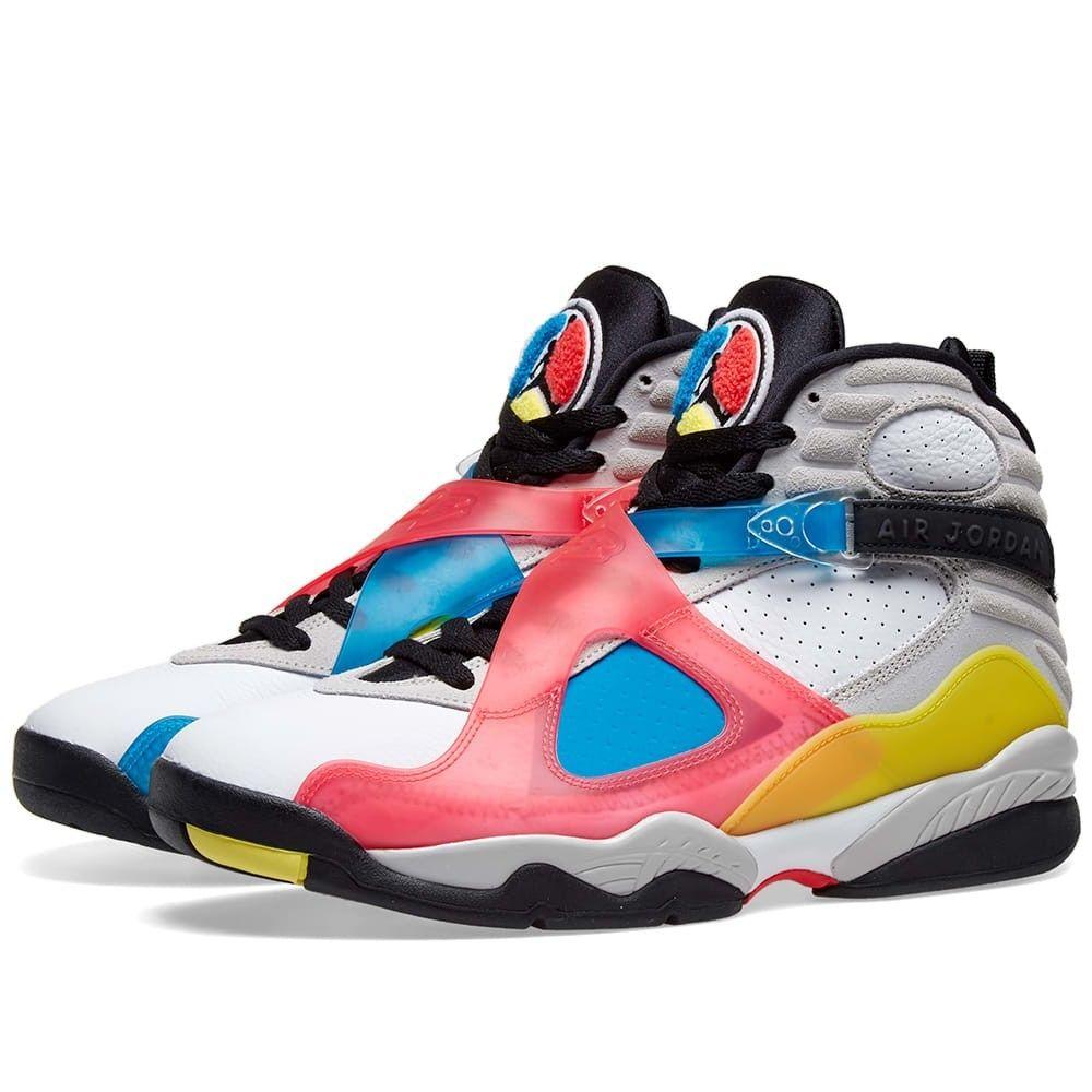 ナイキ ジョーダン Nike Jordan メンズ スニーカー シューズ・靴【air jordan 8 retro se】White/Black/Red/Orbit Blue