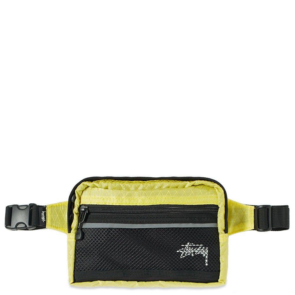 ステューシー Stussy メンズ ボディバッグ・ウエストポーチ バッグ【diamond ripstop waist bag】Lime