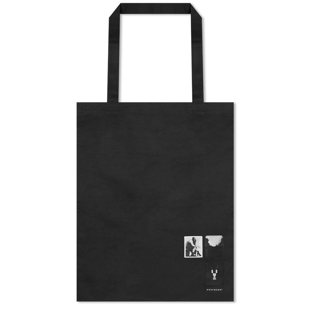 リック オウエンス Rick Owens メンズ トートバッグ バッグ【drkshdw patch tote bag】Black