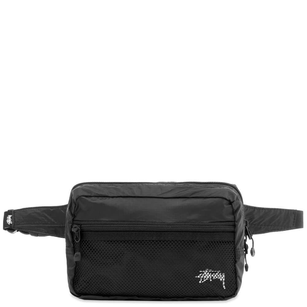 ステューシー Stussy メンズ ボディバッグ・ウエストポーチ バッグ【light weight waist bag】Black