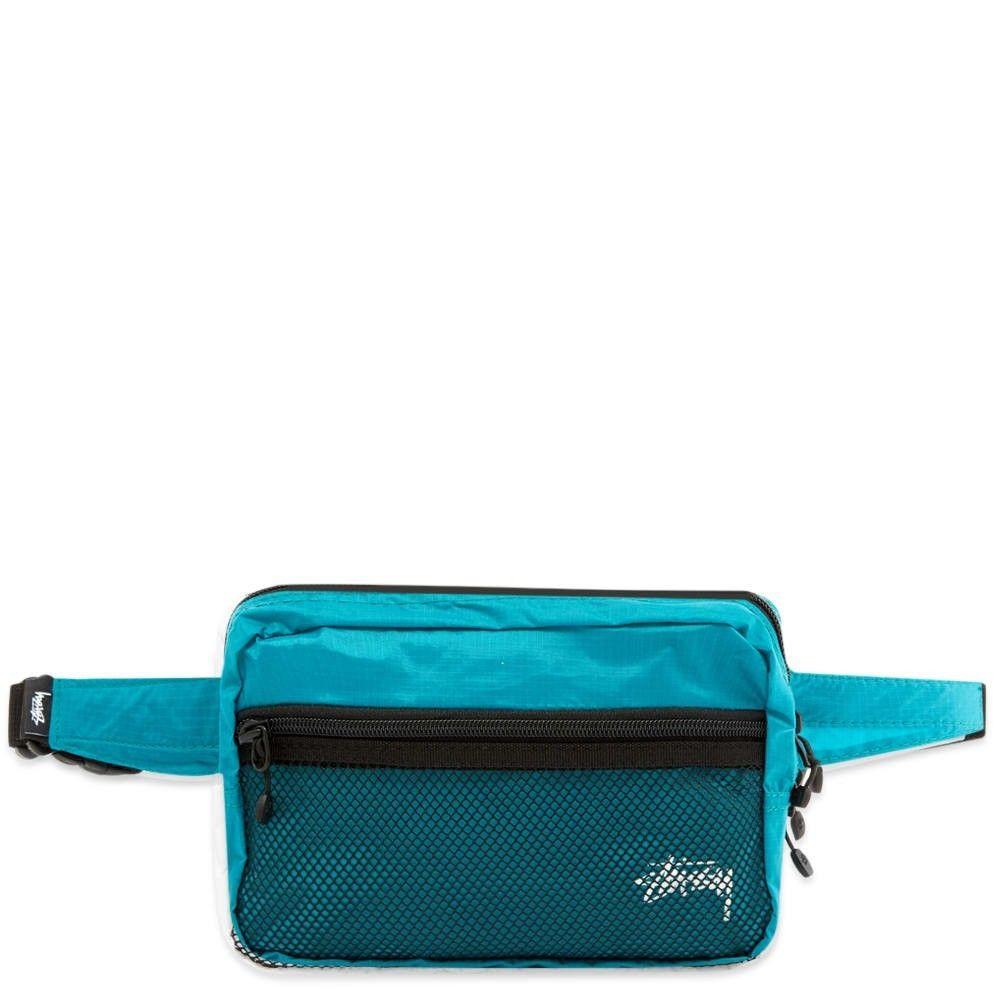 ステューシー Stussy メンズ ボディバッグ・ウエストポーチ バッグ【light weight waist bag】Teal