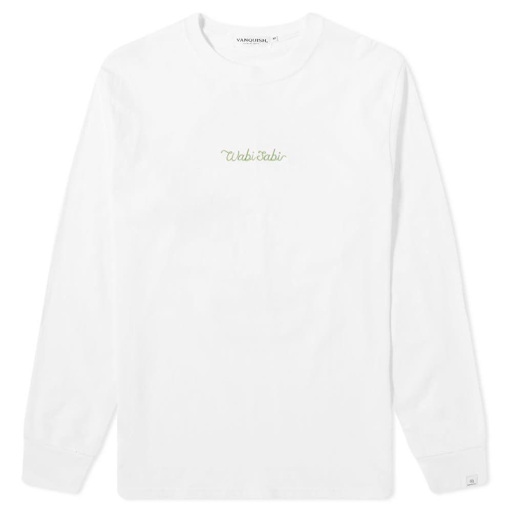 ヴァンキッシュ Vanquish メンズ 長袖Tシャツ トップス【long sleeve bonsai wabi-sabi tee】White