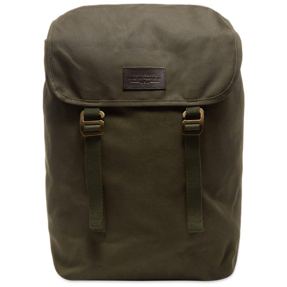 フィルソン Filson メンズ バックパック・リュック バッグ【rugged twill ranger backpack】Otter Green