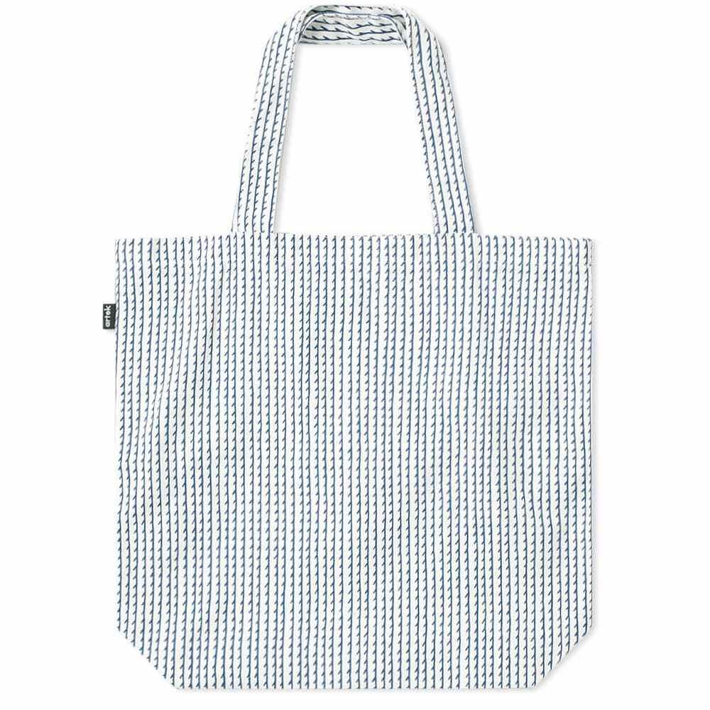 アルテック Artek メンズ トートバッグ バッグ【rivi canvas bag】White/Blue