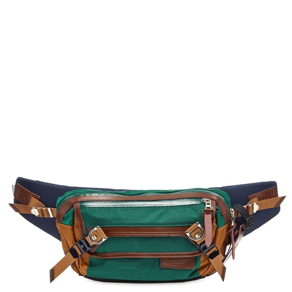 マスターピース Master-Piece メンズ ボディバッグ・ウエストポーチ バッグ【potential leather trim waist bag】Green