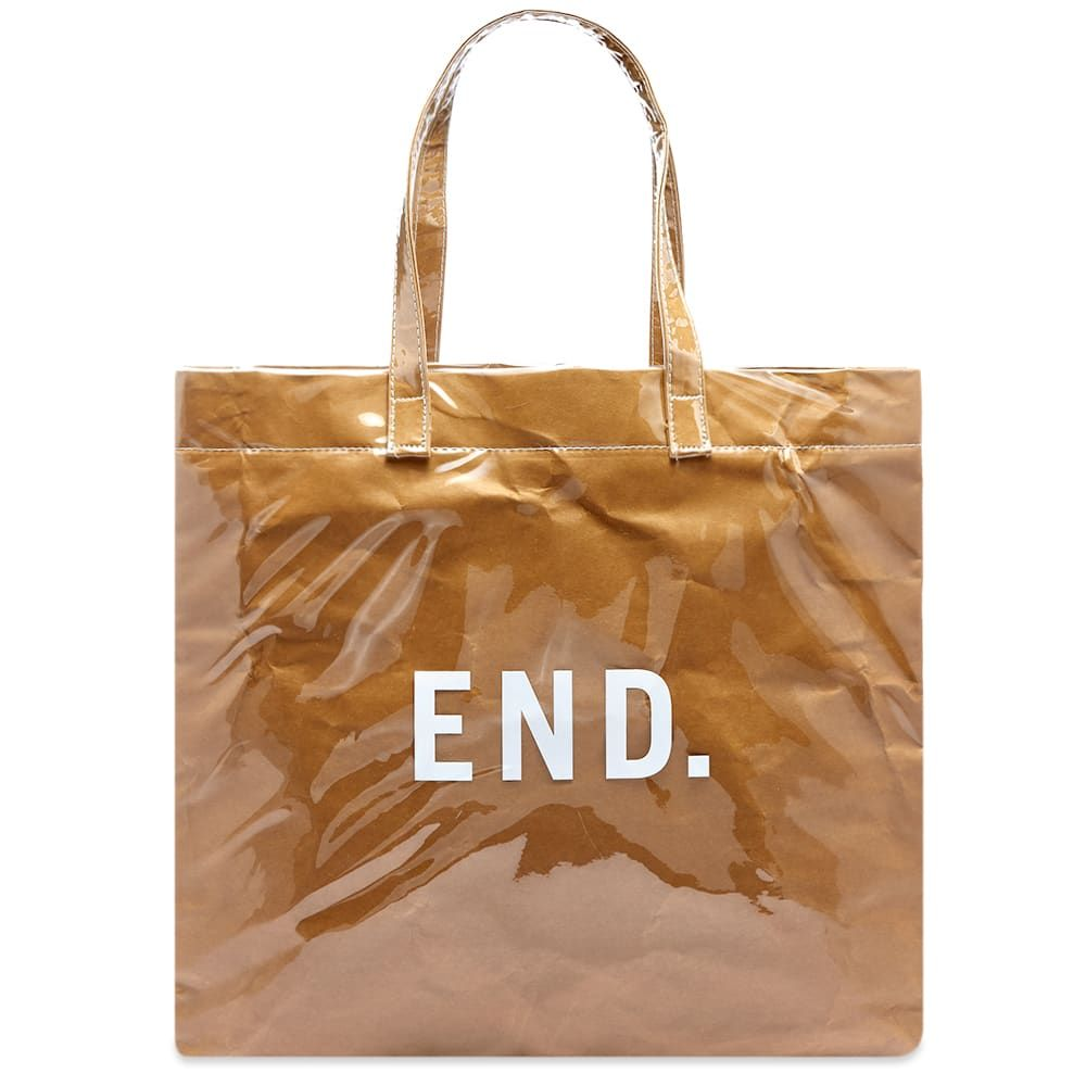 エンド END. メンズ トートバッグ バッグ【everyday bag】Brown