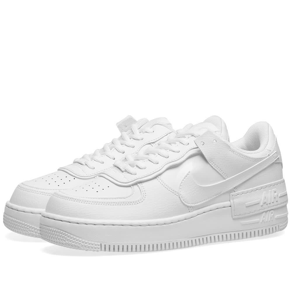 ナイキ Nike レディース スニーカー エアフォースワン シューズ・靴【air force 1 shadow w】White