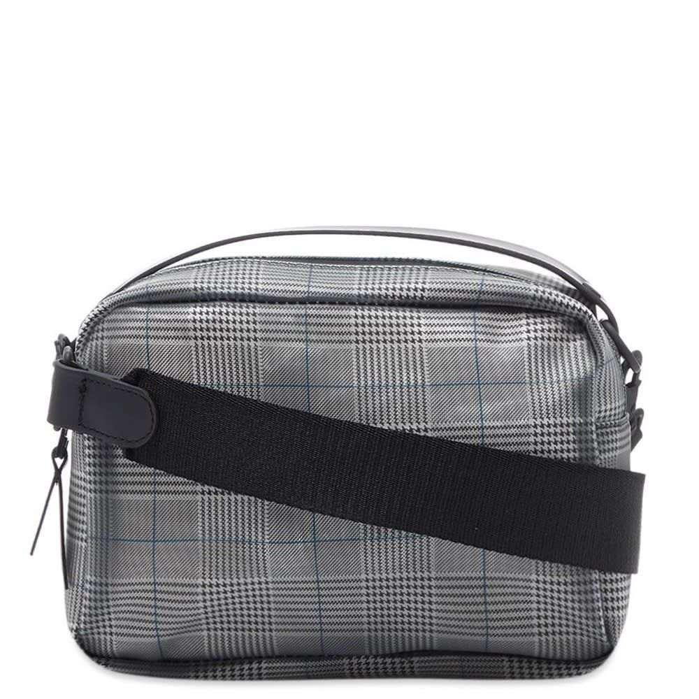 レインズ Rains メンズ ショルダーバッグ バッグ【foggy box bag】Charcoal Check