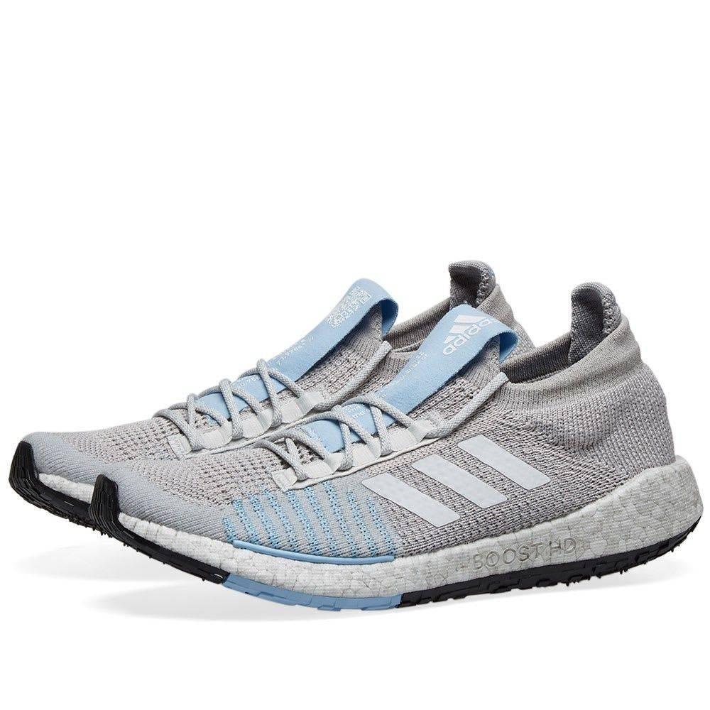 アディダス Adidas レディース スニーカー シューズ・靴【pulseboost hd w】Grey/White/Blue