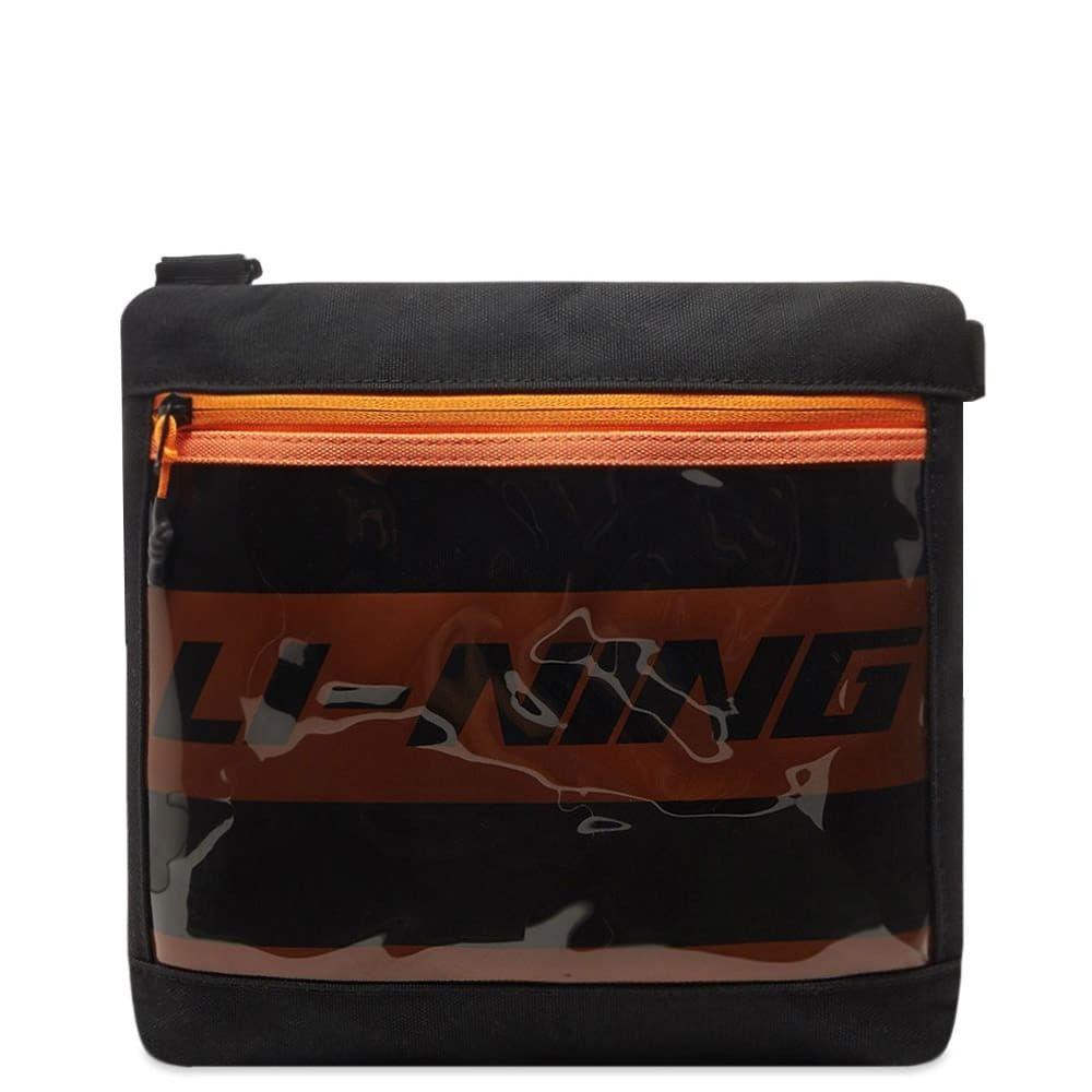 リーニン Li-Ning メンズ ショルダーバッグ バッグ【chest bag】Black