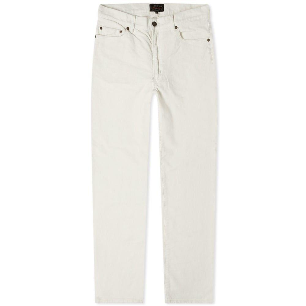 ビームス プラス Beams Plus メンズ ボトムス・パンツ 【5 pocket tapered corduroy pant】Natural