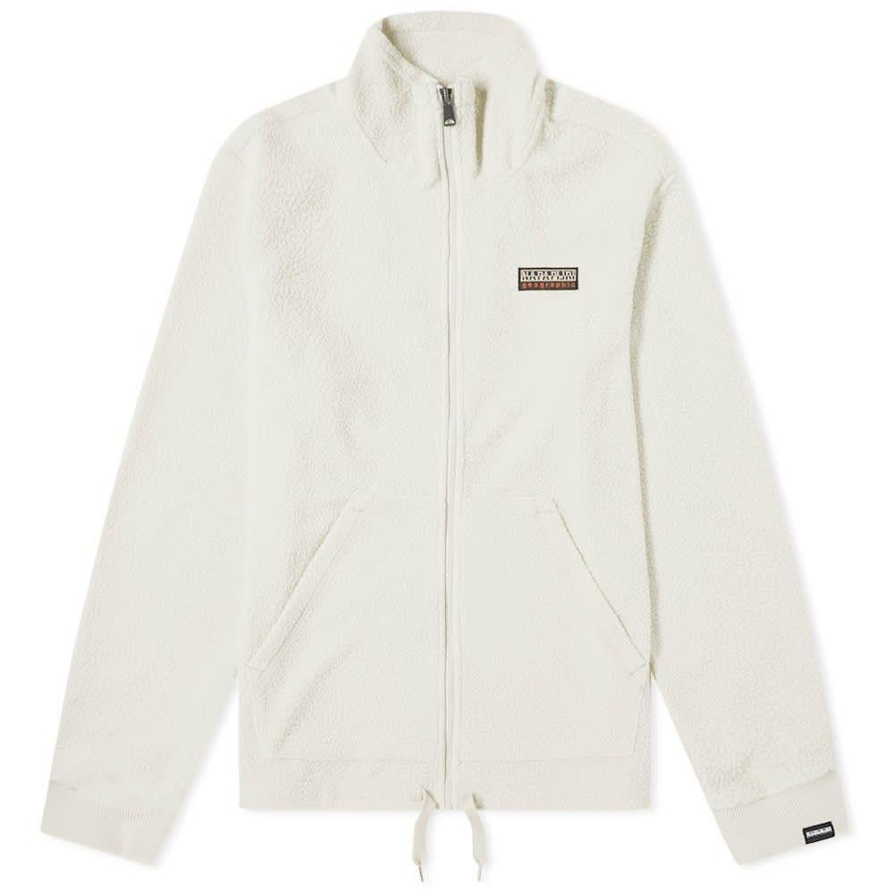 ナパピリ Napapijri メンズ フリース トップス【tase full zip fleece】Whitecap Grey