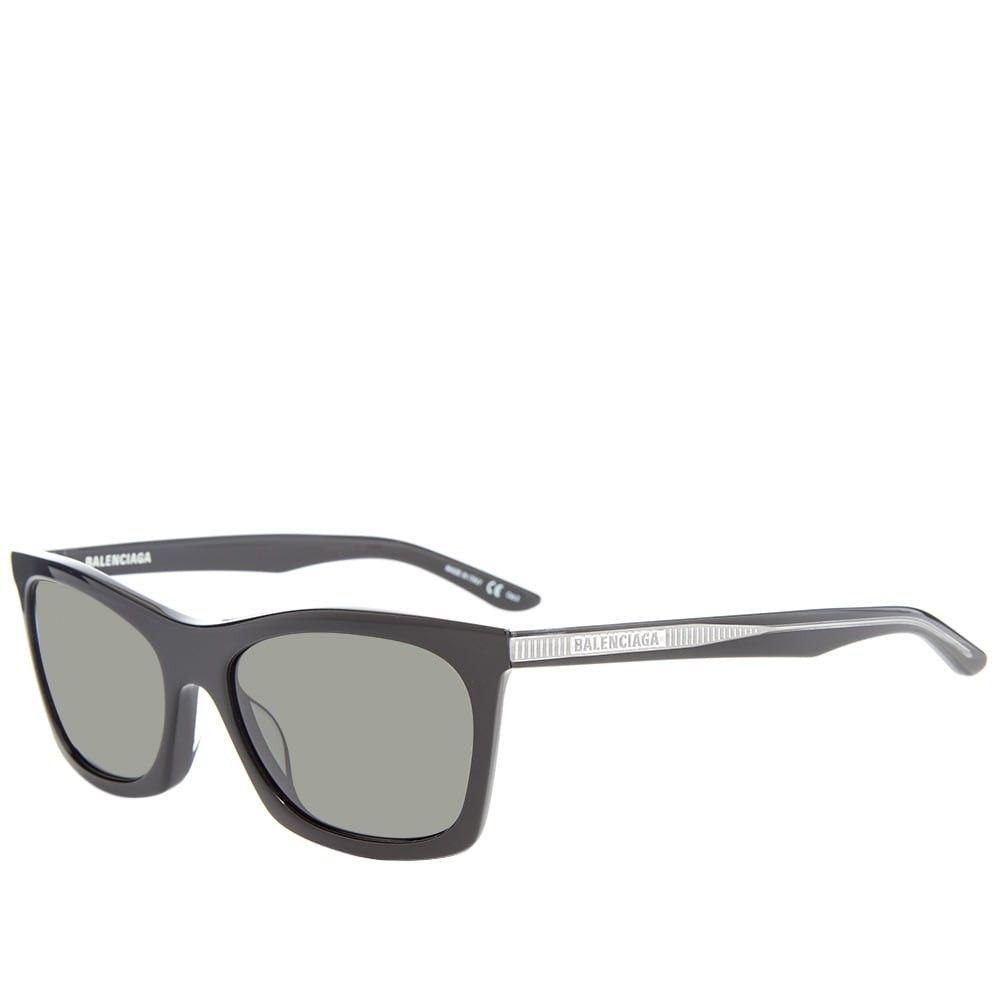 バレンシアガ Balenciaga メンズ メガネ・サングラス 【verso sunglasses】Black/Grey
