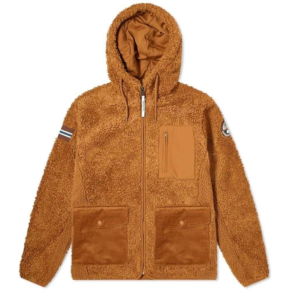 ナパピリ Napapijri メンズ フリース トップス【hairy fleece jacket】Golden