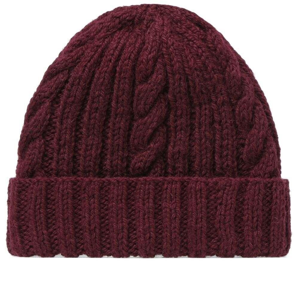 インバーアラン Inverallan メンズ 帽子 【aran hat】Wine