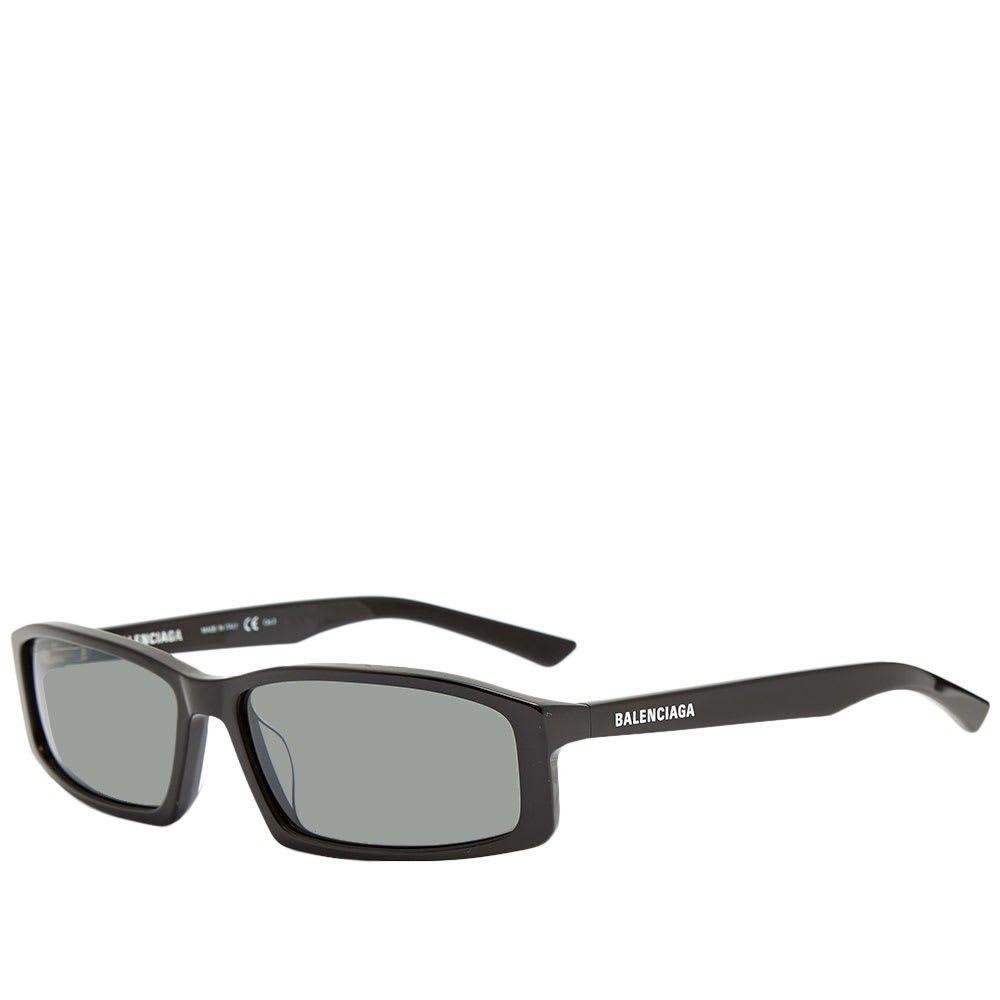 バレンシアガ Balenciaga メンズ メガネ・サングラス スクエアフレーム【neo square sunglasses】Black/Grey