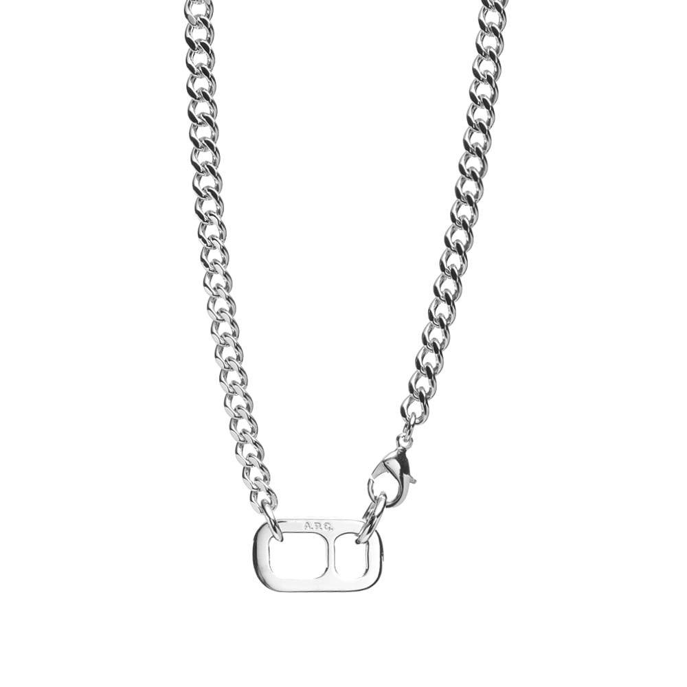 アーペーセー A.P.C. メンズ ネックレス ジュエリー・アクセサリー【ethan necklace】Silver