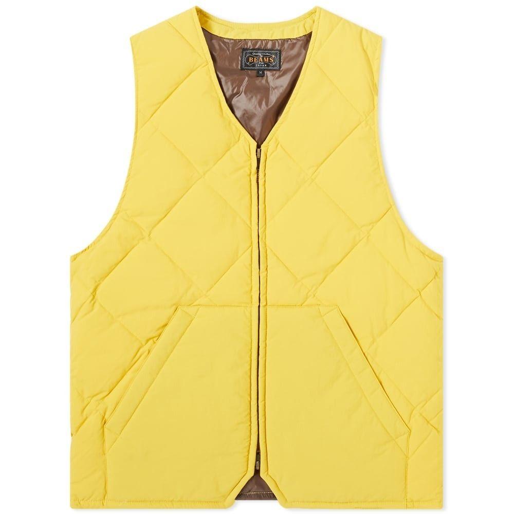 ビームス プラス Beams Plus メンズ ベスト・ジレ ダウンベスト トップス【down vest】Yellow