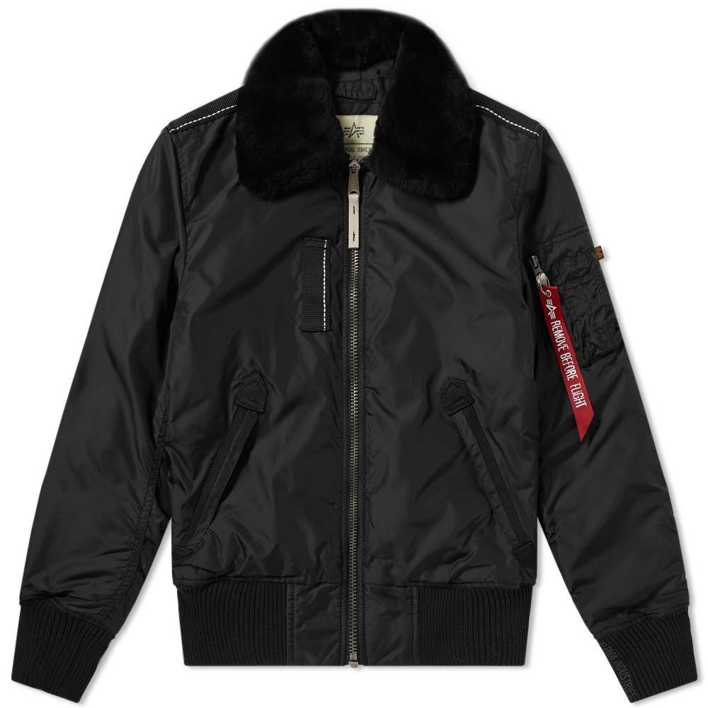 アルファ インダストリーズ Alpha Industries メンズ ジャケット アウター【injector iii jacket】Black