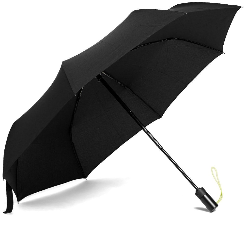 ロンドンアンダーカバー London Undercover メンズ 傘 【auto-compact umbrella】Black/Neon