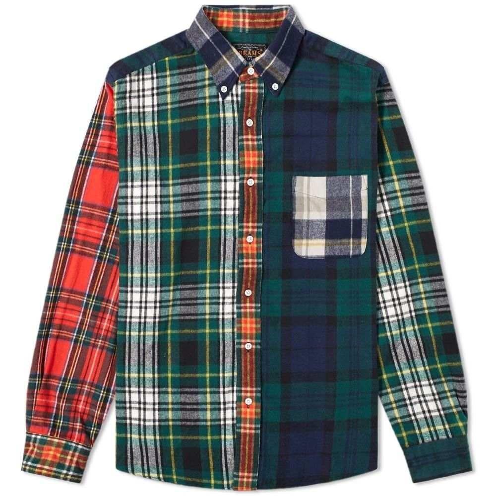ビームス プラス Beams Plus メンズ シャツ トップス【crazy shaggy tartan shirt 1】Crazy
