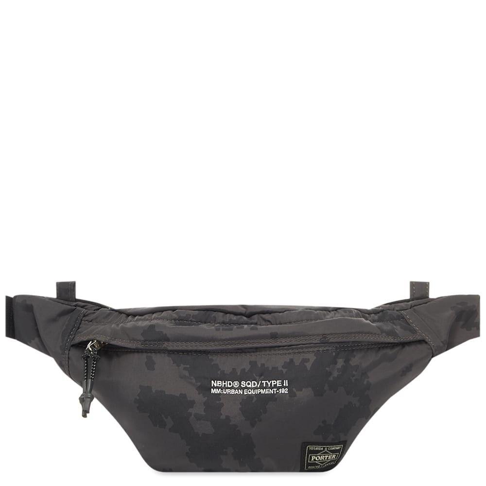 ネイバーフッド Neighborhood メンズ ボディバッグ・ウエストポーチ バッグ【waist bag】Charcoal