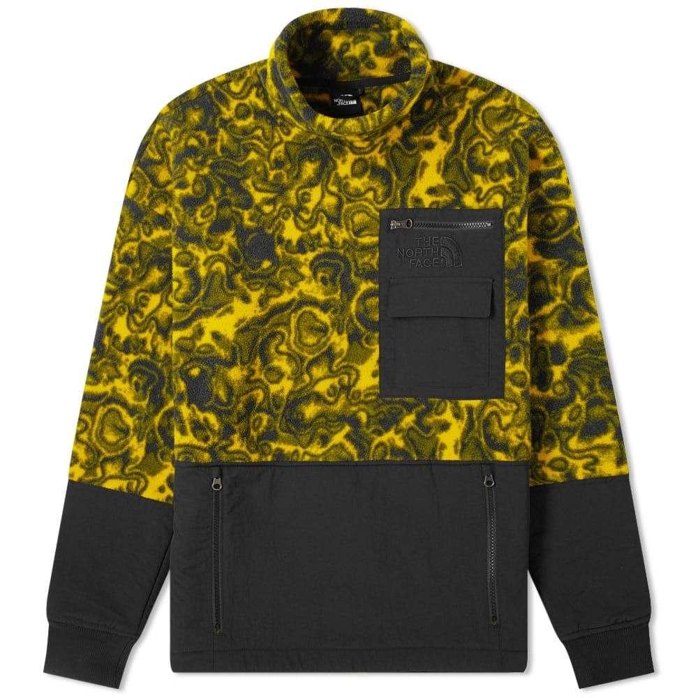 ザ ノースフェイス The North Face メンズ フリース トップス【94 rage classic pullover fleece】Leopard Yellow 1994 Rage Print