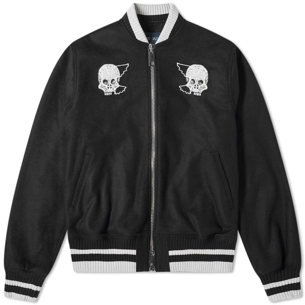 ロスト デイズ Lost Daze メンズ ブルゾン ミリタリージャケット アウター【good boy bomber jacket】Black