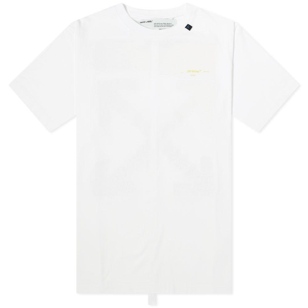 オフホワイト Off-White メンズ Tシャツ トップス【acrylic arrows tee】White