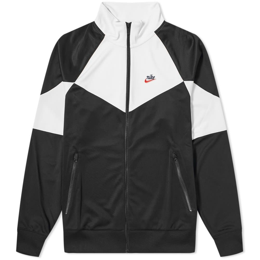 ナイキ Nike メンズ ジャケット アウター【heritage woven jacket】Black/Summit White