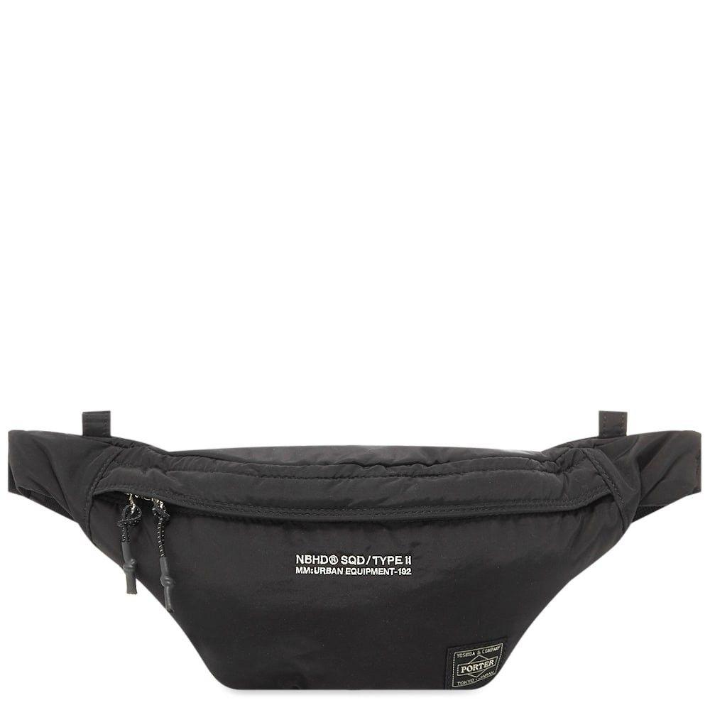 ネイバーフッド Neighborhood メンズ ボディバッグ・ウエストポーチ バッグ【waist bag】Black