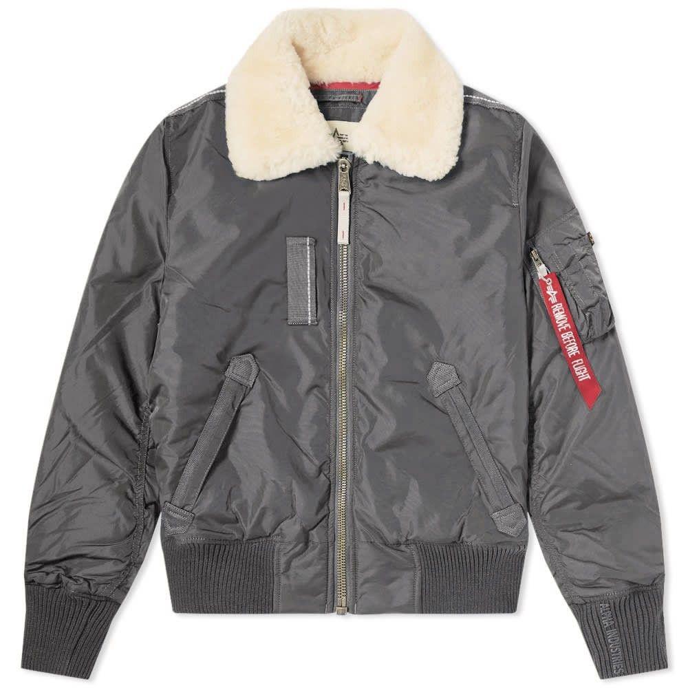 アルファ インダストリーズ Alpha Industries メンズ ジャケット アウター【injector iii jacket】Grey Black