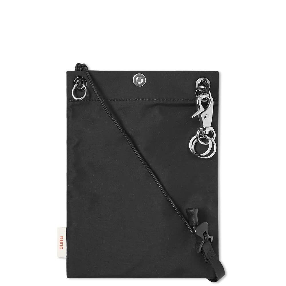 ヌンク nunc メンズ ポーチ 【3 layer pouch】Black